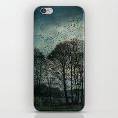 Textured Trees iPhone & iPod Skin