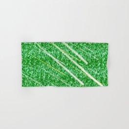 Green Streak Hand & Bath Towel