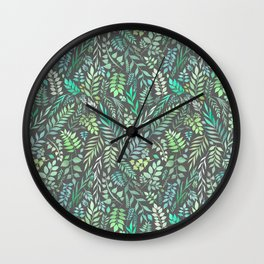 Eucalyptus (Essential Oil Collection) Wall Clock