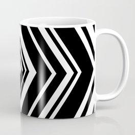 SCORN BLACK AND WHITE BY SUBGRL Coffee Mug