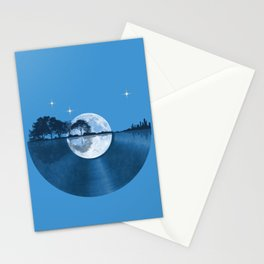 Nature Guitar Record Stationery Cards