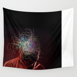 Mask III Wall Tapestry