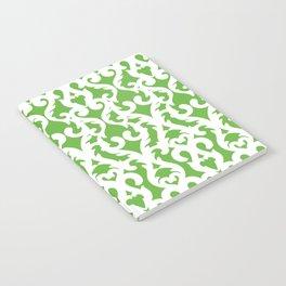 Modern Baroque Green Notebook