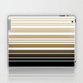 Bay Ombre Stripe: Neutral Laptop & iPad Skin