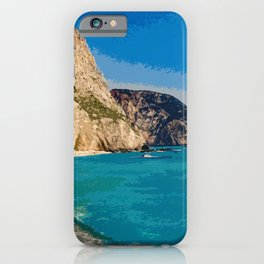 Lefkada Paradise - Porto Katsiki iPhone Case