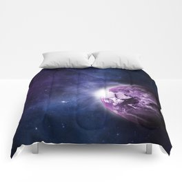 Outer Space (Color) Comforters