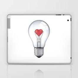 Lamp heart Laptop & iPad Skin