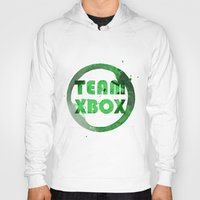 xbox Hoodies featuring Team XBox by Bradley Bailey