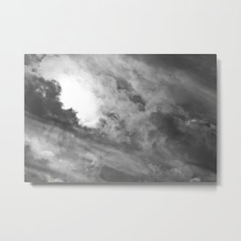 Brewing Storm X Metal Print