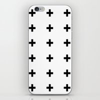 +++ (black) iPhone & iPod Skin