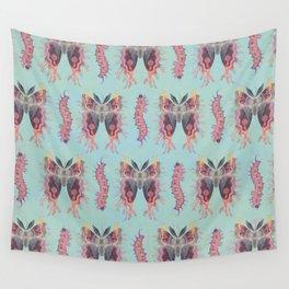 Saturnia divum orbis Wall Tapestry