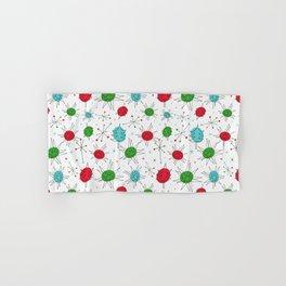 Atomic Ornaments Hand & Bath Towel