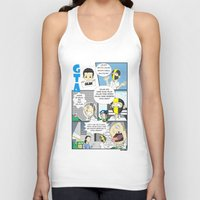 gta v Tank Tops featuring GTA - Comic strip by Azlee Mahat