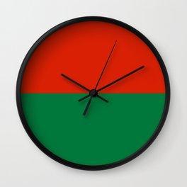 Flag of La Paz Wall Clock