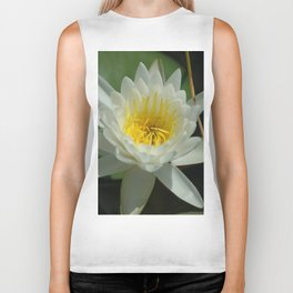 Water Lilly Biker Tank