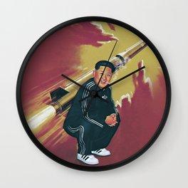 Tracksuit Rocketman Wall Clock