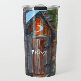 Outhouse - PRIVY Travel Mug