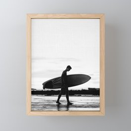 Surf Boy Framed Mini Art Print