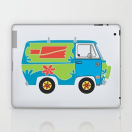 Mystery of the Lost Parts Laptop & iPad Skin