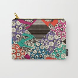 retro summer patches Carry-All Pouch