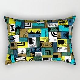 Napkin Darts Rectangular Pillow
