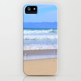 blue waters iPhone Case