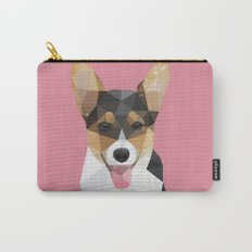 Low Poly Corgi. Carry-All Pouch