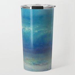 Infinity Beyond The Blue Travel Mug