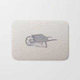 Wheel barrow Bath Mat