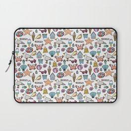 A day at the beach! Laptop Sleeve