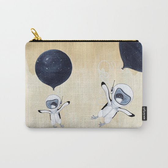 Penguin fly Carry-All Pouch