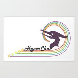 HyperChai Racer Art Print