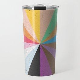 Rainbow Wheel of Inclusivity Travel Mug