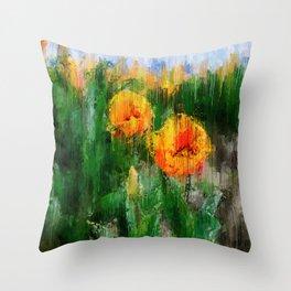 Skagit Valley Throw Pillow