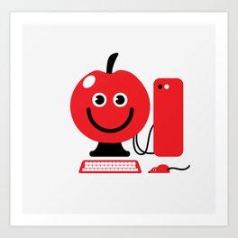 Fruity Computing Art Print