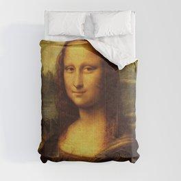 Leonardo Da Vinci Mona Lisa Painting Comforters