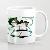 bleach Mugs featuring BLEACH GrimmUlqui by PrincessBBree
