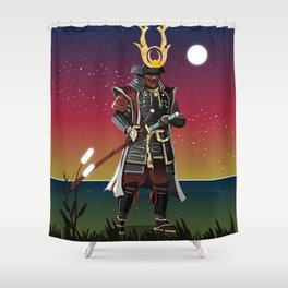 Honour and Glory Shower Curtain