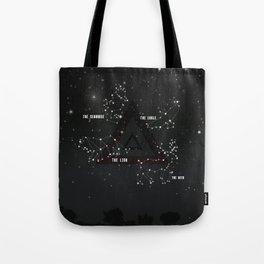 Look at the stars Tote Bag