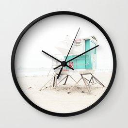 Aqua Dreams Wall Clock