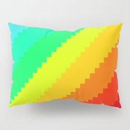 Pixel Rainbow Dreams Pillow Sham