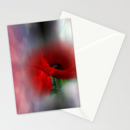 missing poppies -3- Stationery Cards