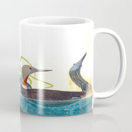 Red-Throated Diver Duck Coffee Mug