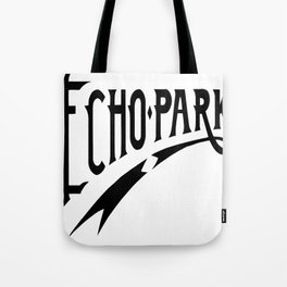Echo Park Script Tote Bag
