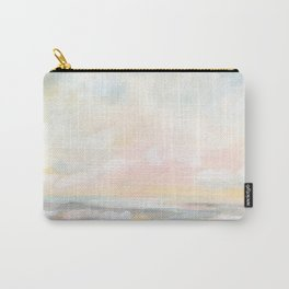Rebirth - Pastel Ocean Seascape Carry-All Pouch