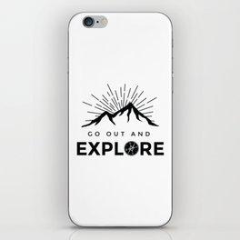 Go Explore iPhone Skin