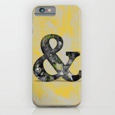 Ampersand Series - Baskerville Typeface iPhone 6s Slim Case