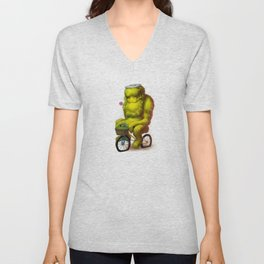 Bike Monster 1 Unisex V-Neck