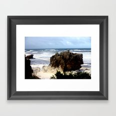 Sea Foam #2 Framed Art Print