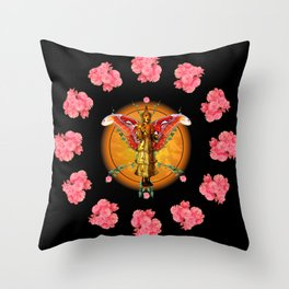 Deity II Throw Pillow